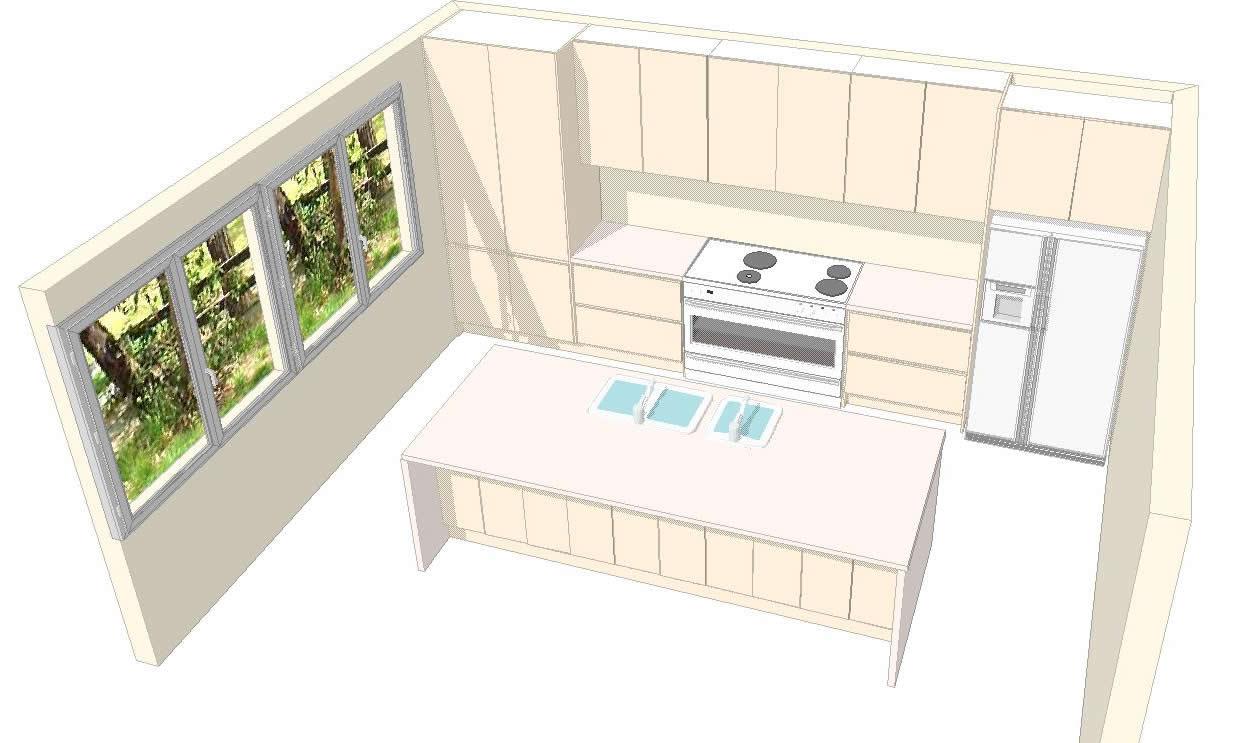 Kitchen 3d 1