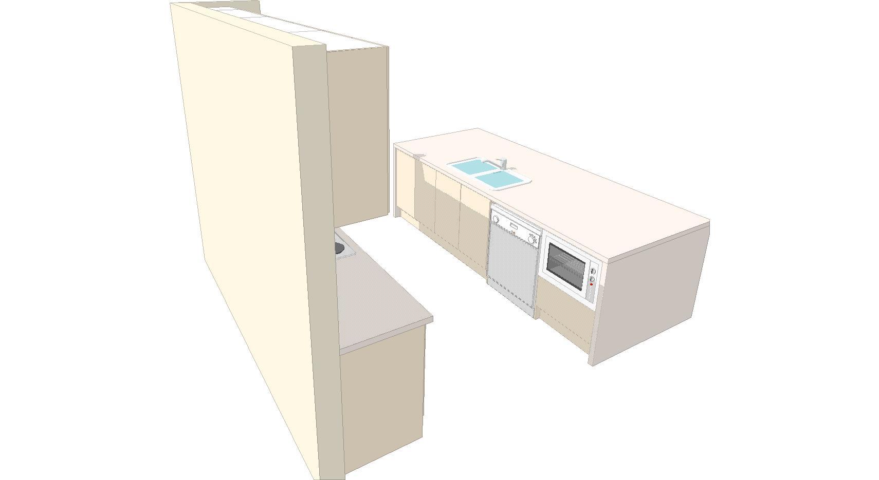 U1 Kitchen 3d 2