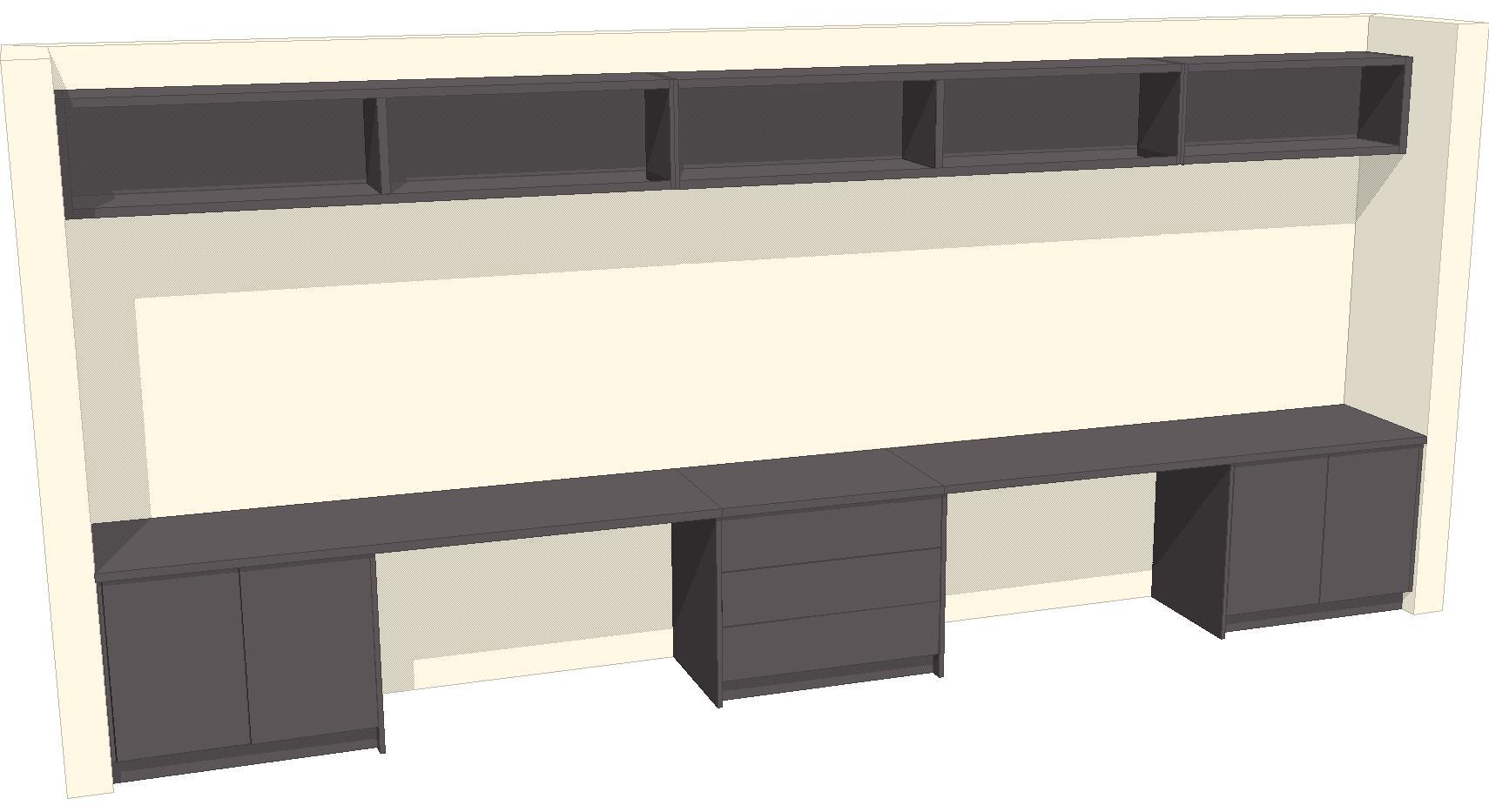 U2 Study Desk 3d Design From Laptop