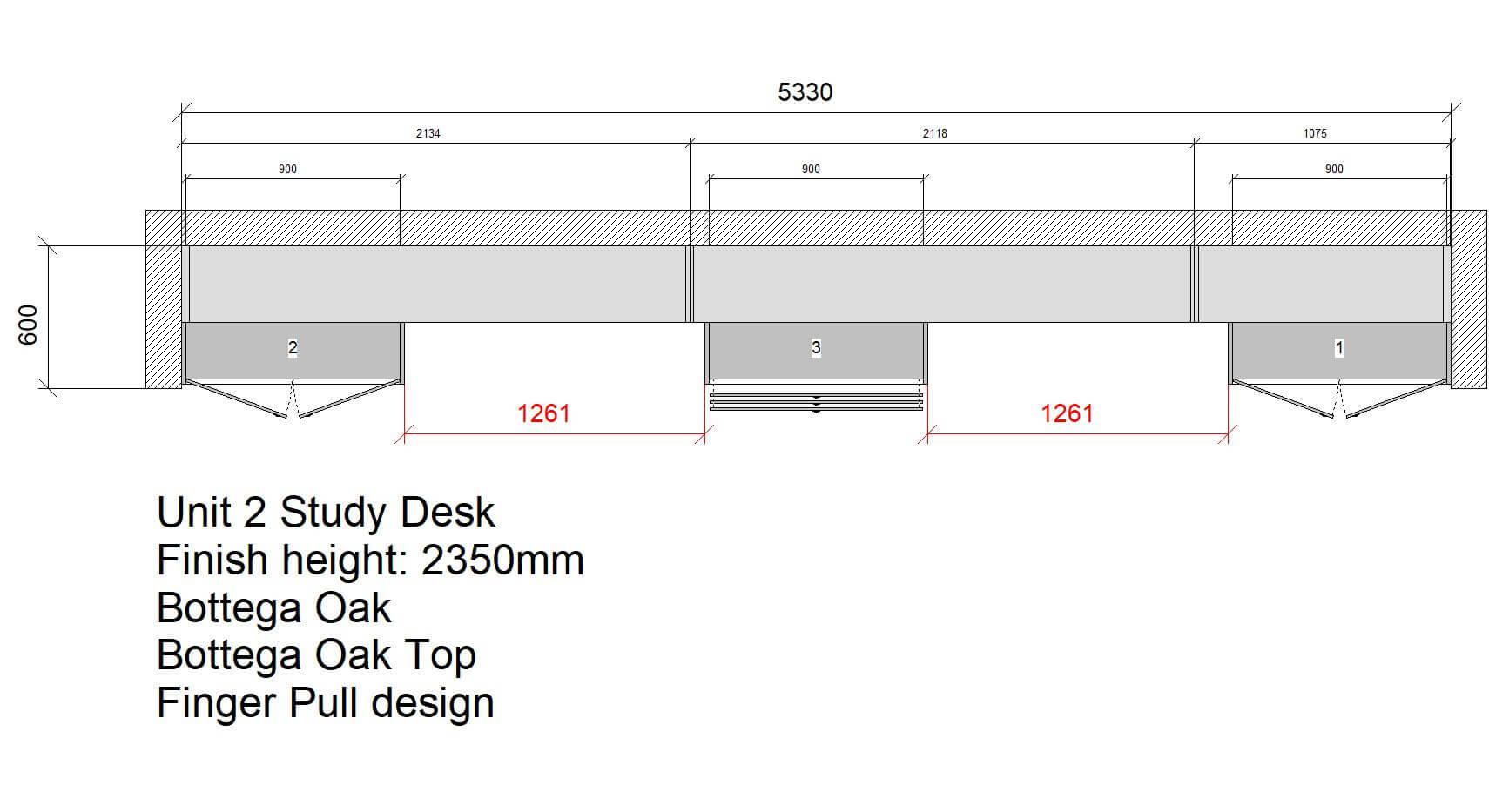 U2 Study Desk Floor Plan Design From Laptop