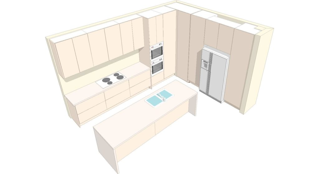 Kitchen 3d 1