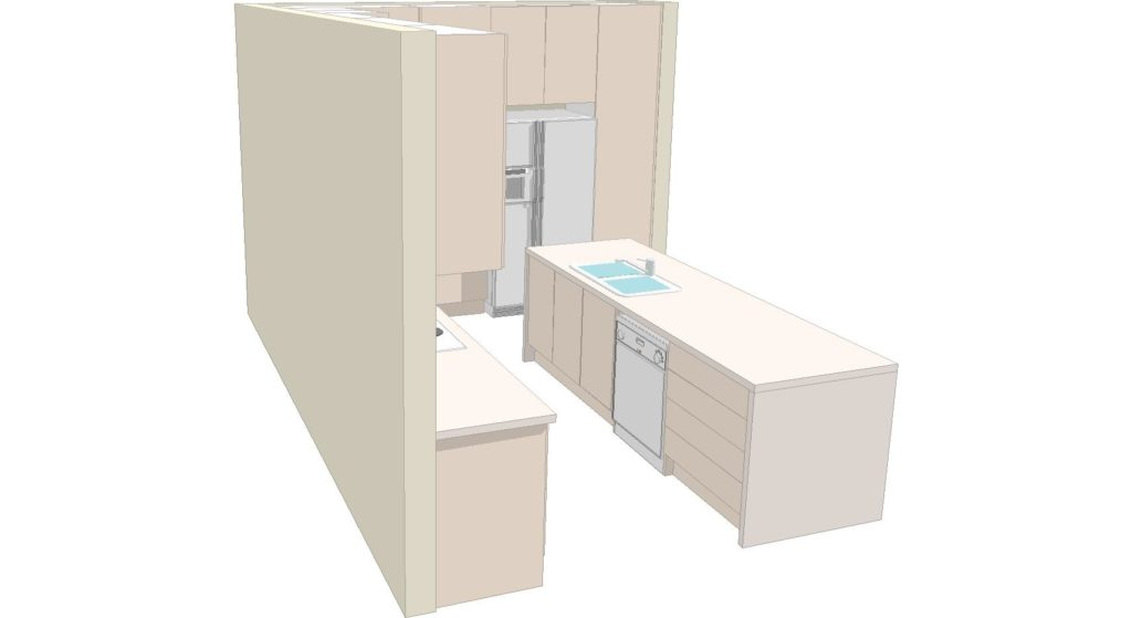 Kitchen 3d 2