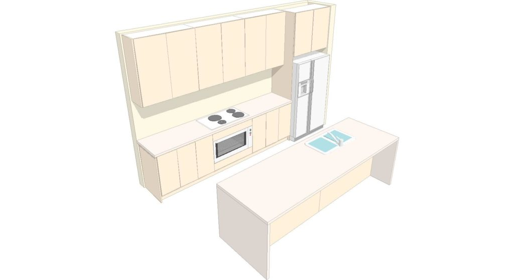 U1 Kitchen 3d 1