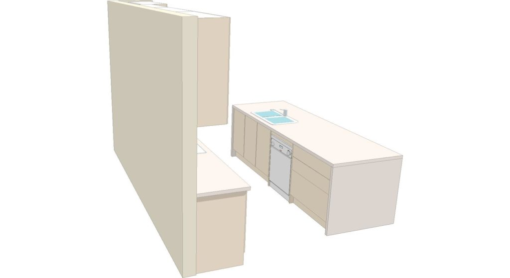 U1 Kitchen 3d 2