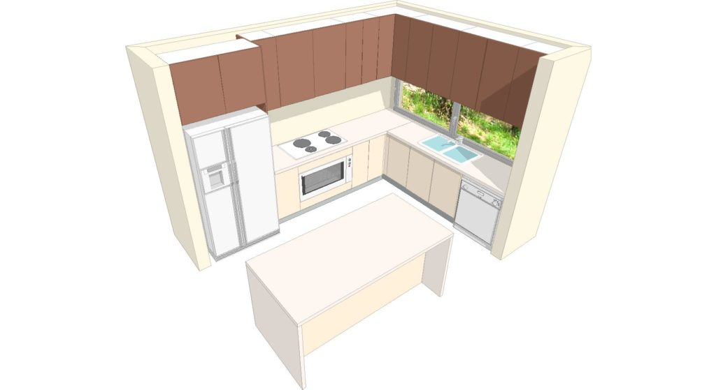 U1 & U2 Kitchen 3d 1