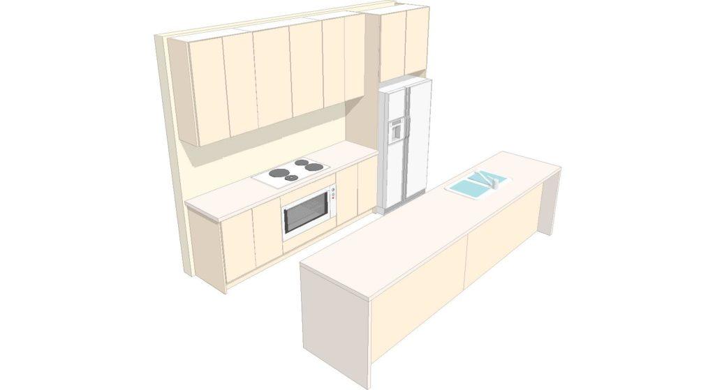 U2 Kitchen 3d 1